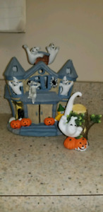 Partylite Haunted tealight house