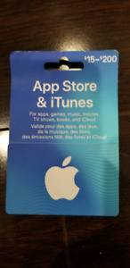 App Store & iTunes $50 gift card selling for $45