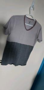 Light and dark grey t shirt