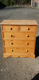 ■ SOLD PENDING ■ SOLID PINE CHEST OF DRAWERS