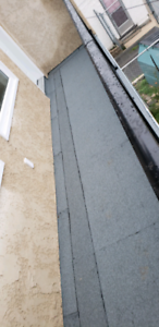 Roof leaks?? Free estimates on commercial and residential flat r