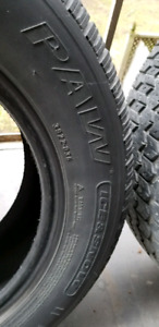 Uniroyal P195 / 65R15 winter tires