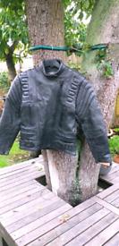 Cheap Ladies Apache Apollo Black Leather Motorcycle Jacket. 16 / 14.