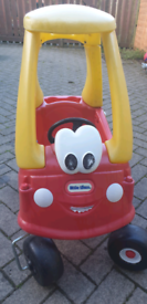 Toy Little tikes cozy coupe car