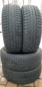 Set of 225 65 17 Michelin Latitude X-Ice