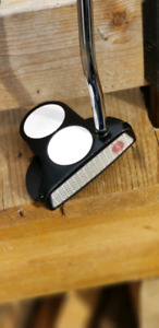 Odysee 2ball putter with super stroke grip