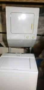 Stackable Maytag Washer and dryer
