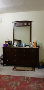 Dresser with Night Table