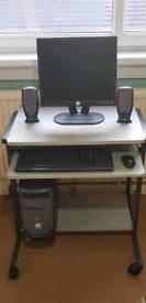 Dell Dimension 3000 PC with Desk