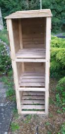 Garden storage recycle box
