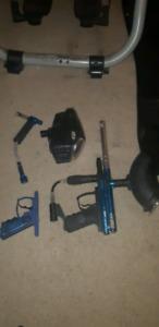 Paintball gun.