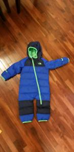 North face 12-18 month snow suit