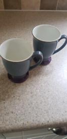 Denby Storm Mugs
