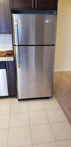 3 year stainless steel Frigidaire refrigerator mint condition