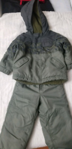 Winter jacket and snow pant for boy size 2T for sale