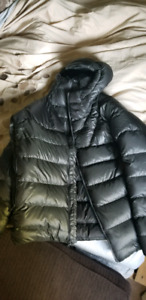 North Face down parka