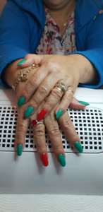Poly gel Nails l and Beauty services. Slacks Creek Logan Area Preview
