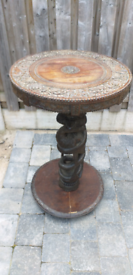 ANTIQUE INDIAN WOODEN TABLE