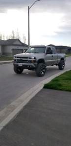 "2000 chev 6"" lift on 35s"