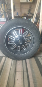 6 bolt chevy/gmc rims   and Nitto tires