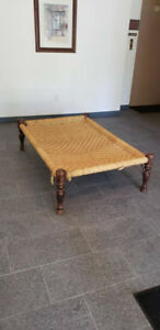 Antique Indian Rope Bed $250 OBO
