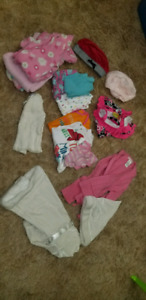 Girls 0-3 months to 6-12 months clothing lot
