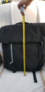 Travel computer backpack bag: black