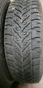 4x winter tires on rims 195 65 r15 Goodyear ultra grip