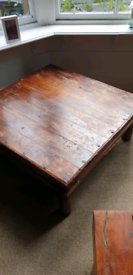 Coffee table for upcycling.