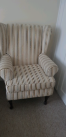 Big wingback chair