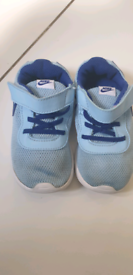 Nike 8.5 UK 15cm baby shoes in blue