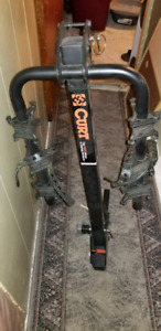 Curt hitch mounted bike carrier
