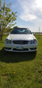 2005 Mercedes-Benz CLK 500 AMG Convertible.