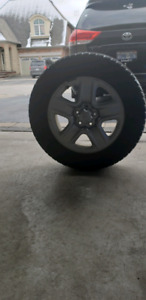 Toyota Sienna 2012 Winter Tires and Rims