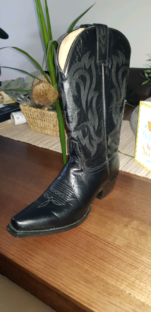 c90802583c00 Shyanne 12 quot  Snip Toe Western Leather Boots - Size 8 (New ...