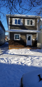 New 3 bedrooms for rent in a duplex in St-Boniface 1300 sq ft