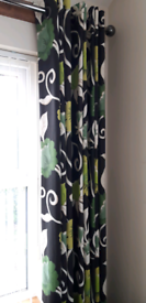 Beautiful NEXT Floral Curtains...135cmx229cm...Floor Length....As New!