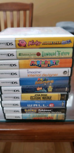 DS games and case