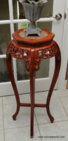 Oriental Style Plant Stand