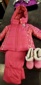"""""""Carters"""" snowsuit (12mos). And """"Krickets"""" snow suit (3yrs)"""