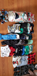 boys 3-6 and 6-12 month clothing