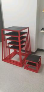 Plyometric/crossfit box jumps