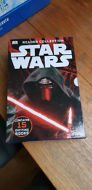 Complete set of 15 star wars reading books