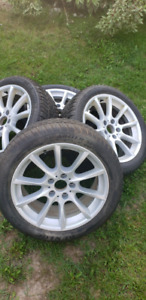 BMW 5 SERIES Winter tires 245 45 18 DUNLOP