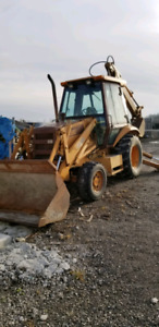 580K Case Backhoe 2 Stick  4X4 Extendahoe