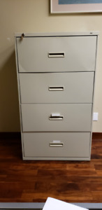 Lateral Filing Cabinet; 4 Drawer Lateral Cabinet; $200.00 each
