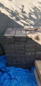 Reclaimed Staffordshire Blue Paver Bricks