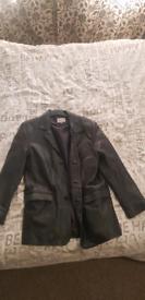 Vintage Paul smart designs leather coat jacket