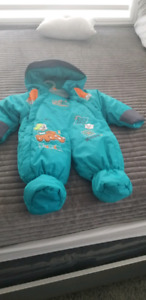 Snow suit for baby boy..