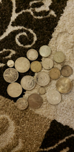 Silver coin collection